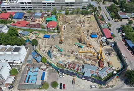 Site Progress as at 30th Nov 2020