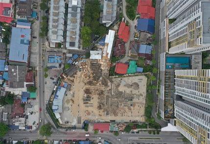 Site Progress as of Mar 21