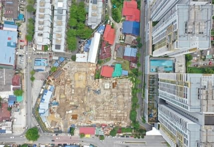 Site Progress As At Apr 2021